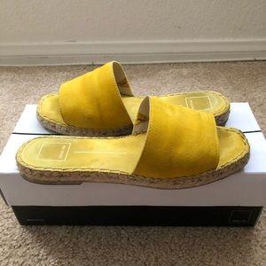 Dolce Vita Yellow Sandals